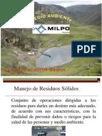 Presentación-MANEJO DE RESIDUOS SÓLIDOS