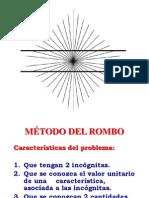 MÉTODO DE ROMBO