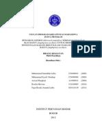 Proposal Pkm-p Pengaruh Anemon (Heteractis Magnifica) Terhadap Vitalitas Ikan Badut (Amphiprion Oscellaris) Untuk Minimalisasi Penggunaan Karang Hidup Dalam Usaha Budidaya Ikan Badut (Amphiprion Oscellaris)