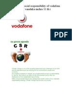 Vanshika -Vodaphone Csr