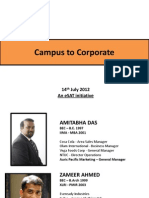Campus to Corporate - 14th July _12