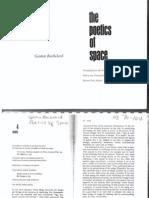 Bachelard the Poetics of Space
