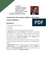 Generalidades sobre Aparato auditivo y alteraciones cócleo-vestibulares
