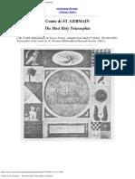 Comte de St. Germain --- The Most Holy Trinosophia