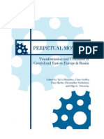 Transformation and Transition in Central and Eastern Europe & Russia