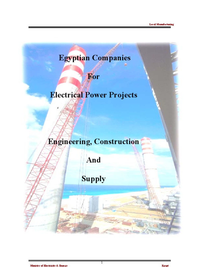 Egyptian 20Companies | Electrical Substation | Power Station