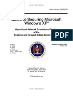 Guide to Securing Microsoft Windows XP (NSA)