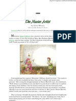 The Master Artist - A Children's Story