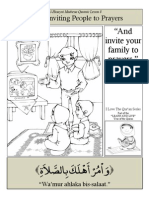 Quranic Lesson 8 - Inviting to Prayers
