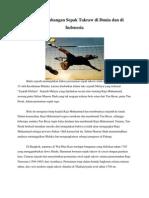 Sejarah Perkembangan Sepak Takraw Di Dunia Dan Di Indonesia