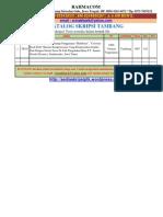 Katalog Skripsi Tambang