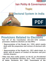 11 (A) Electroral System in India