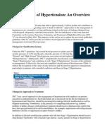At a Glance JNC 7 Management of Hypertension