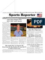 October 31 - November 6, 2012 Sports Reporter
