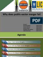 Why Public-sector Mergers Fail