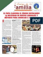 EL AMIGO DE LA FAMILIA - DOMINGO 4 DE NOVIEMBRE DE 2012