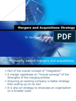 Mergers and Aquisitions Strategy