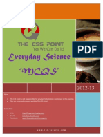CSS Everyday Science MCQS Book