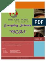 CSS Everyday Science MCQS Book