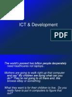 ICT & Devt
