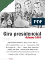 Gira Presidencial [Hugo Chávez] Octubre 2010