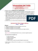 Laboratorio 4 - 2012-2