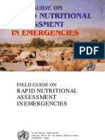 Rapid Nutritional Assessment (Field Guide)