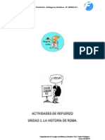 ACTIVIDADES DE REFUERZO DEL TEMA 3. LATÍN.