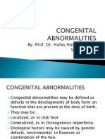Congenital Abnormalities