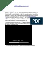 Windows Server 2008 Instalare Pas Cu Pas