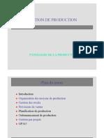 Introduction Typologie de Production