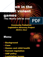 check out more on violent video games effect on children
