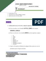 Deber ROBLES 7 de Noviembre 2012