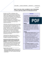 Evidence-based Treatment of Alcohol, Drug, and Mental Health Disorders
