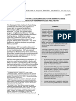 Recidivism Findings for the Juvenile Rehabilitation Administration's Dialectical Behavior Therapy Program
