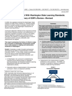 Textbook Alignment With Washington State Learning Standards