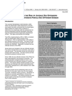 Assessing the Risk of Juvenile Sex Offenders Using the Intensive Parole Sex Offender Domain