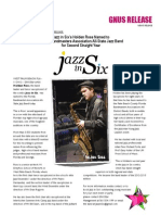 Jazz in Six All State Flyer