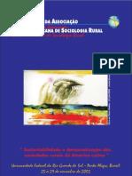 VI Congreso Asociación Latinoamericana de Sociologia Rural