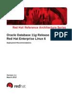 Oracle 11gr2 on Rhel6 0