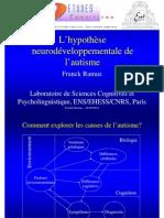 Hypothèses Neurodéveloppementales De L'Autisme