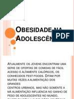 Obesidade na Adolescência Slides