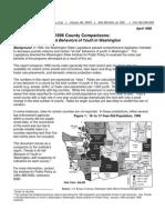 1996 County Comparisons