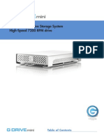 G-drive Mini User Guide