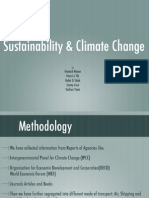 International Logistics and Climate Change