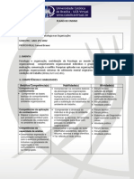 11- Plano de Ensino - Psicologia nas Organizações