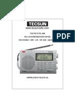 Download Tecsun PL 660 Radio Portugues Manual PDF1