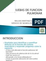 Pruebas de Funcion Pulmonar-dr Martinez