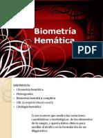 3.- Biometría Hemática
