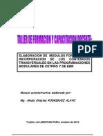 Manual 2010 Elaboracion de Modulos